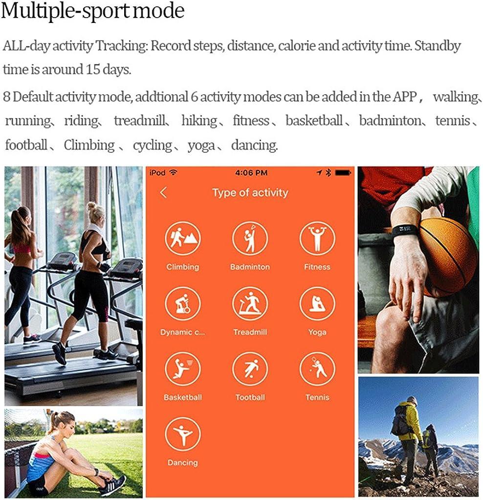 pinkashop Fitness Tracker, id107plus HR Fitness relojes, IP67 ...