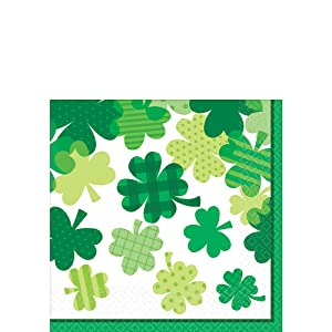 Amscan 241664 St. Patrick's Items Theme Party, 19 x 8 1/2 inches, Multicolor