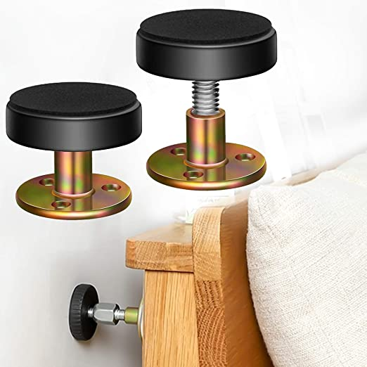 Bedroom Durable Threaded Anti-Shake Frame Tool for Bed Headboard Stoppers Bedside Headboards Prevent loosening Fixer Easy Install Osierr6 Shockproof Self Adhesive Adjustable