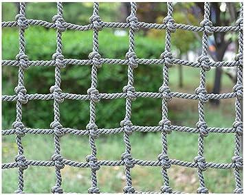 BOC Red de cuerda de escalada, red de escalada para niños ...