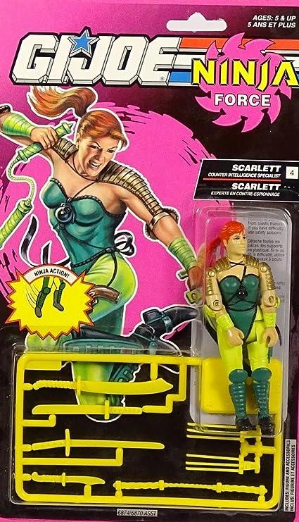 GI Joe Ninja Force Scarlett