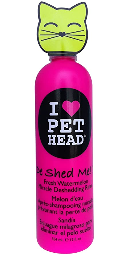 Pet Head De Shed Me!! Miracle Deshedding Rinse for Cats 12oz