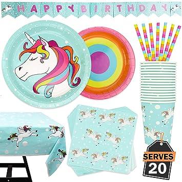 Amazon.com: Set de 102 piezas de accesorios para fiestas con ...
