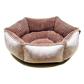Liuxiaoqing Cama de Mascotas para Gatos pequeños Perros Suministros para Mascotas Pet Nest Winter Warm Cat
