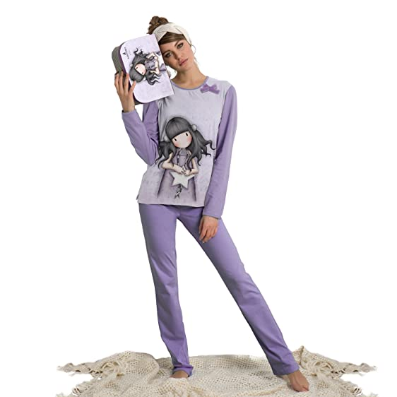 """Santoro - Womens Pyjamas SANTORO """"All This Words"""" ..."""