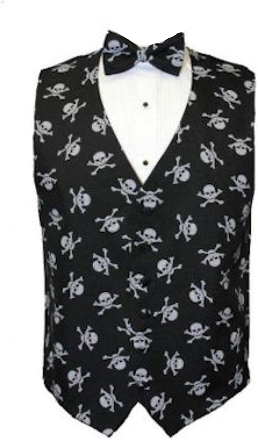 Musical Instruments Tuxedo Vest and Bow Tie