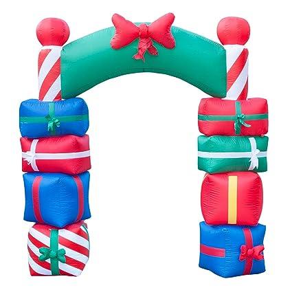 Amazon.com: 8 foot Tall Césped Navidad decoraciones ...