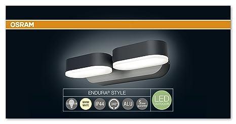 Osram endura style mini spot ii dark grey led outdoor luminaire