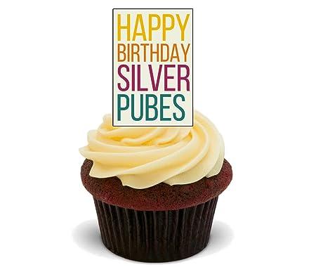 Feliz cumpleaños plata pubes - Funny/Rude - Decoración para ...