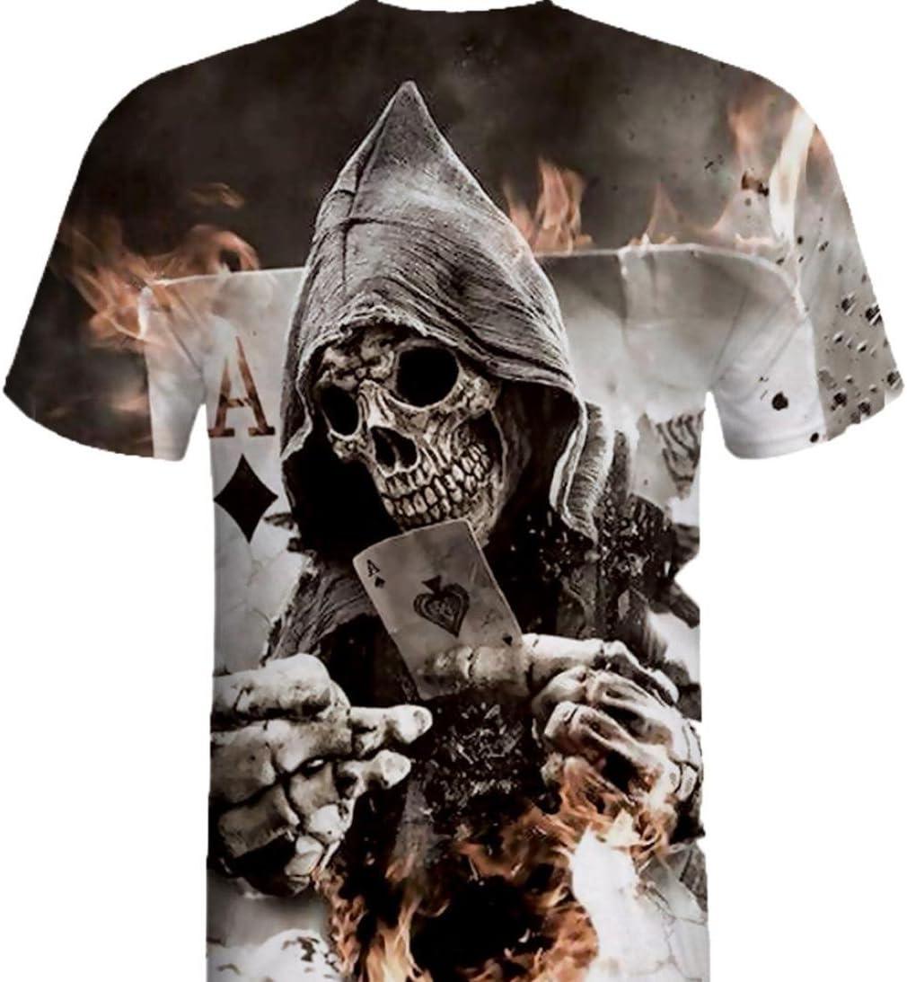 Camiseta de Hombre Deporte Originales Camisa de Manga Corta con ...