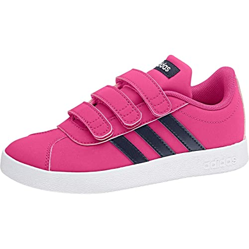 a7d711cb1ad adidas Girls'' Vl Court 2.0 CMF Tennis Shoes: Amazon.co.uk: Shoes & Bags