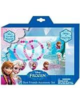 Kids Licensing - Wd16369 - Best Friends - Set de Parure de Bijoux/Accessoires Cheveux - Frozen