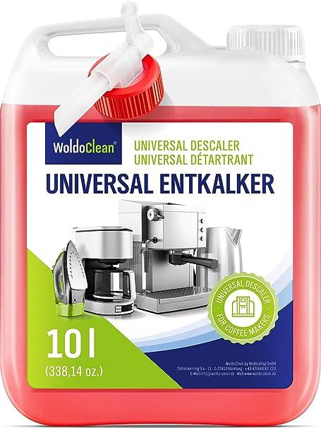 Descalcificador para cafetera concentrado liquido 10 litros - Compatible con marcas Delonghi, Dolce Gusto, Nespresso, Seaco, Krups Senseo: Amazon.es: Hogar