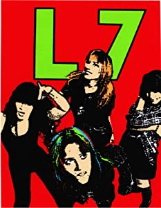 L7 - Group Shot on Red - Sticker