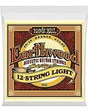 Ernie Ball 2010 Earthwood 12-String Light 80/20 Bronze Acoustic String Set (09-46)