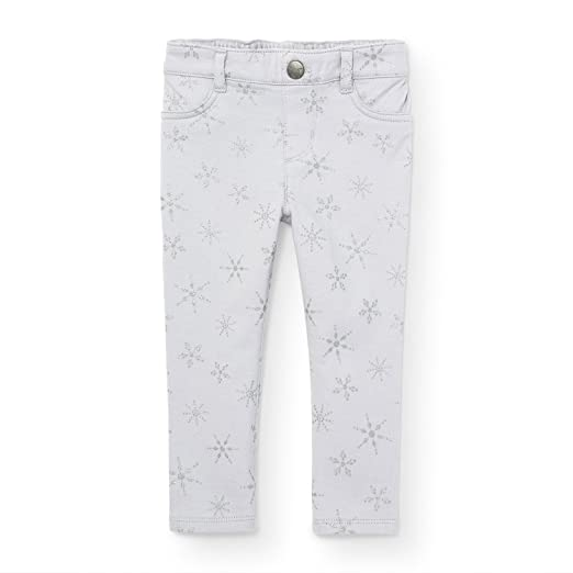 57e510fa49d07 The Children's Place Baby Girls' Little Snow Print Jegging, ice cave 89900,  ...