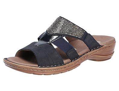 cozy fresh undefeated x top fashion ara Damen Pantoletten Hawaii 37238-02 Blau 464378: Amazon.de ...