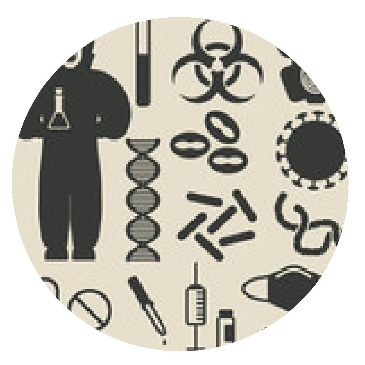 my-puzzle-design alfombrilla de ratón protección epidemia y ...