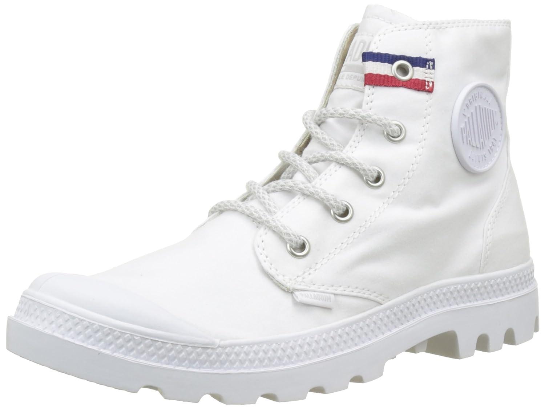 Palladium Pampa Hi Rive Gauche, Zapatillas Altas para Mujer 41 EU|Blanco (White/French Tape L09)