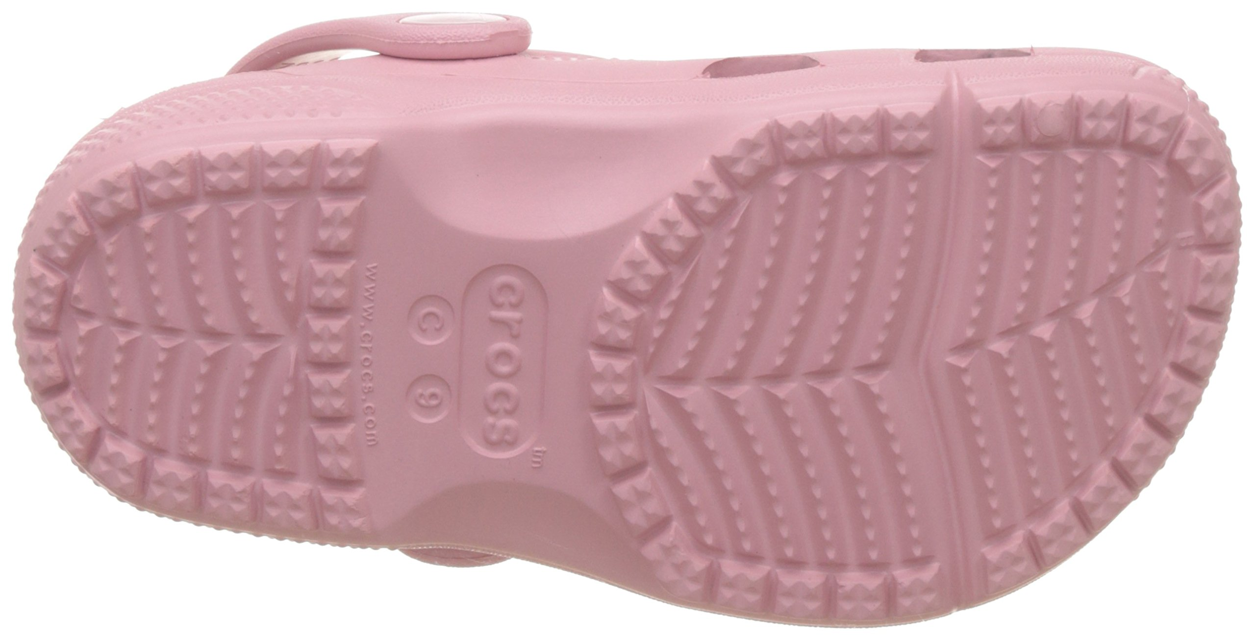 Crocs Kids Unisex Coast Clog (Toddler/Little Kid) Petal Pink 11 M US Little Kid by Crocs (Image #3)