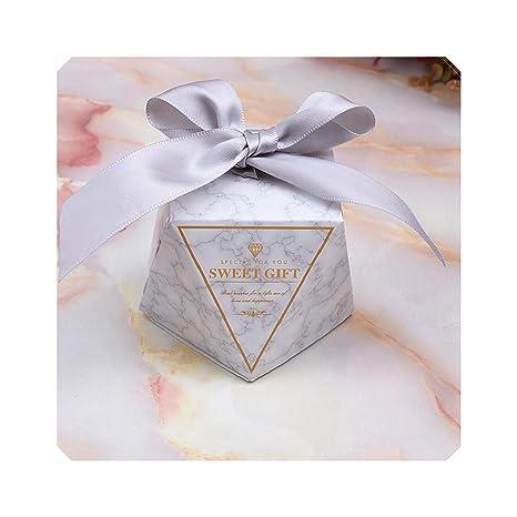Amazon.com: Cajas de dulces para regalo, bolsas para boda ...