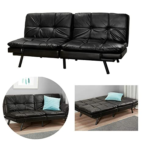 Amazon.com: SP Futon Sofa Bed Foam Memory Sleeper Couch ...