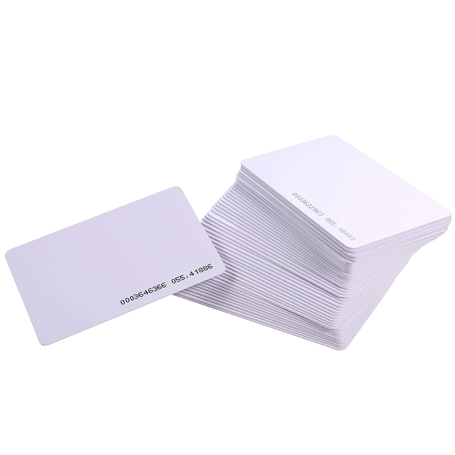 HWMATE Contactless 125Khz EM RFID Proximity ID Smart Entry Access Card for Access Control Time Attandance 100 Pack