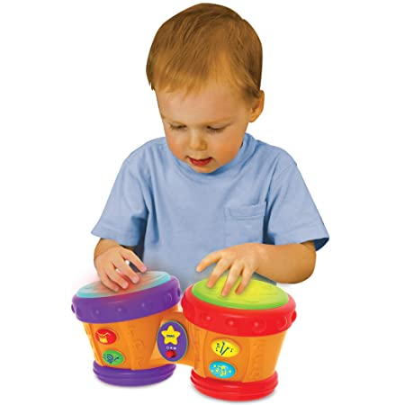 Modest Drum Wood Kids Early Educational Musical Instrument For Children Baby Toys Beat Instrument Hand Drum Toys Learning & Education