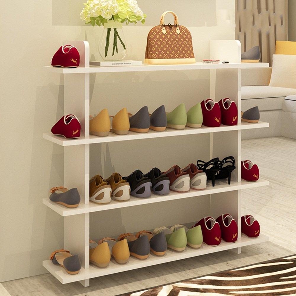 NAN liang 靴ラック木製靴ラック4層靴の16ペアを収容多機能ストレージラック廊下居間寝室80 * 80 Cm 自宅に適しています (色 : 3) B07MR3W3ZT 3