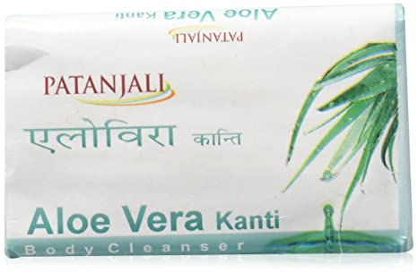 4 Patanjali Kanti Aloe Vera 75 Gm Bath And Body Cleanser Soap Bath & Body Health & Beauty