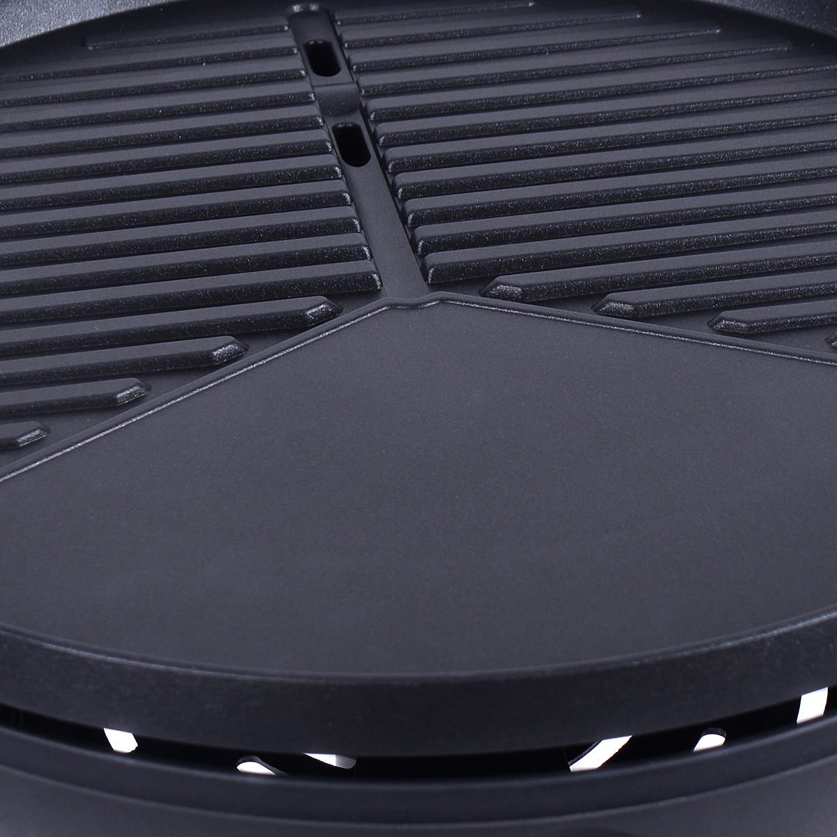 New Electric BBQ Grill 1350W Non-stick 4 Temperature Setting Outdoor Garden Camping by totoshop (Image #6)