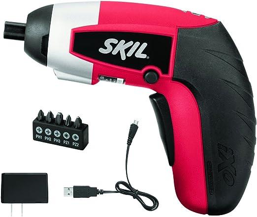 SKIL 2354-07 iXO 4V Max Lithium-Ion Palm-Sized Cordless Screwdriver