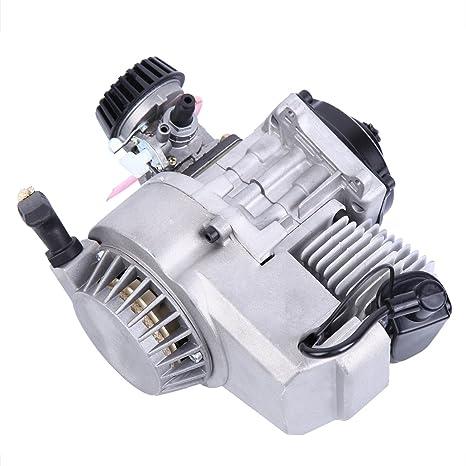 Sange Motor del motor del tirón del movimiento de 49cc 2 tiempos refrigerado por aire para