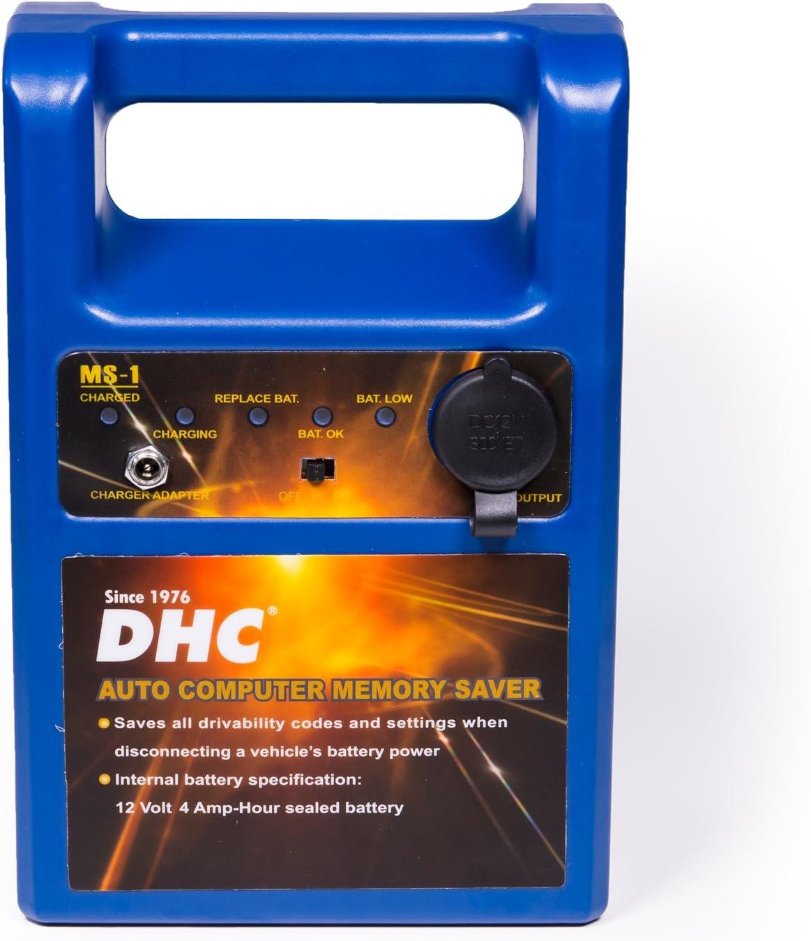 Dhc Memory Saver Ms 1 Obd Ii Datensicherungsgerät Fahrzeug Batterie Auto