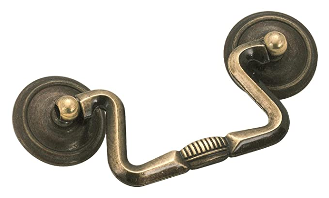 Amerock BP876AE Allison Value 3 in (76 mm) Center-to-Center Antique English Cabinet Pull