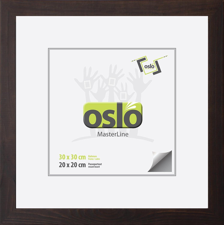 Amazon.de: OSLO MasterLine Bilderrahmen 30x30 quadratisch ...