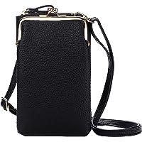 Bolsa leve crossbody para telefone feminino, pequena bolsa crossbody para celular para mulheres Bolsa de ombro porta…