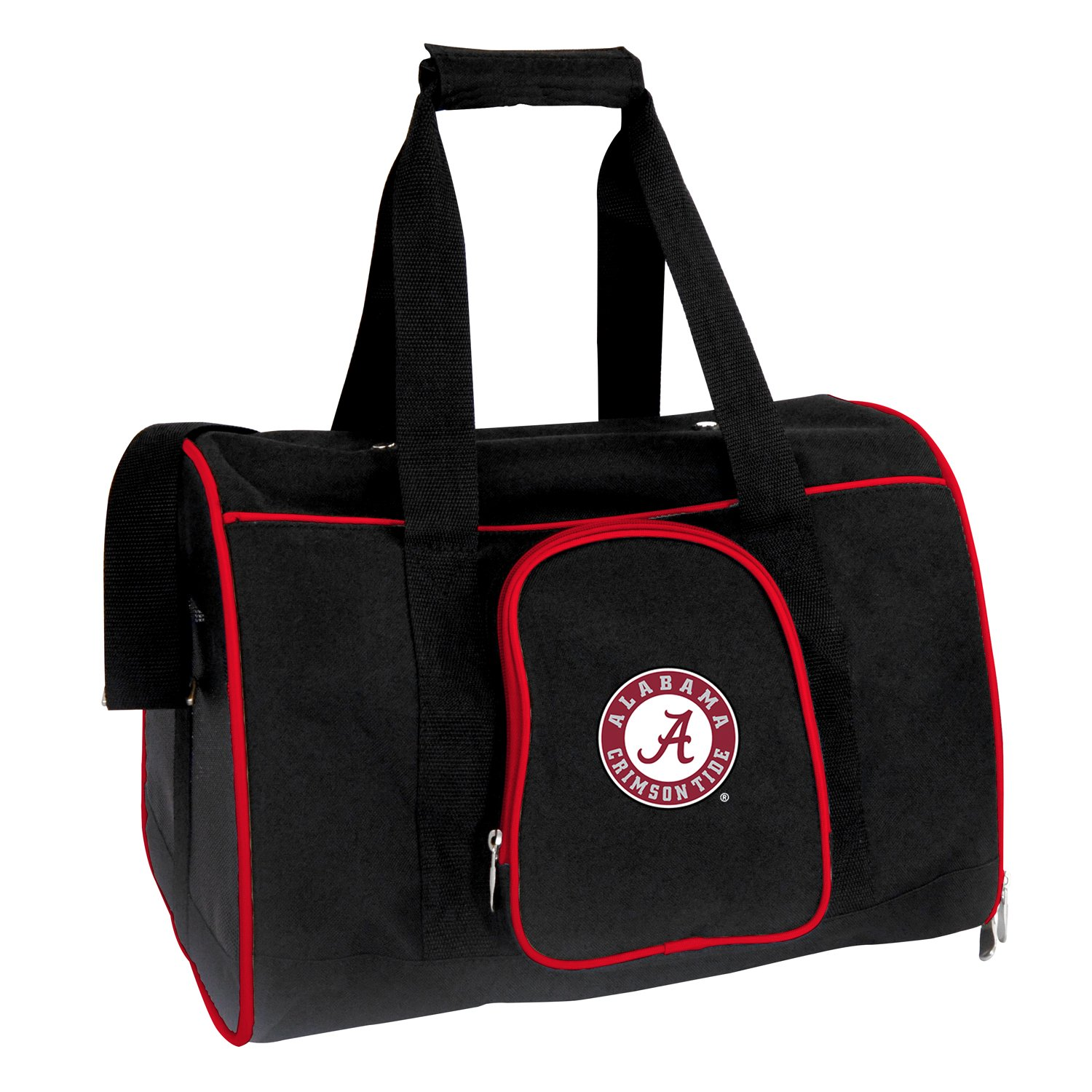 Denco NCAA Alabama Crimson Tide Premium Pet Carrier
