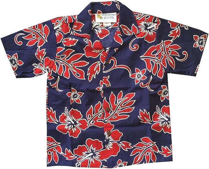 Hawaiian Aloha Shirt Hibiscus Clear Hawaii Beach Day Yellow Made in Hawaii