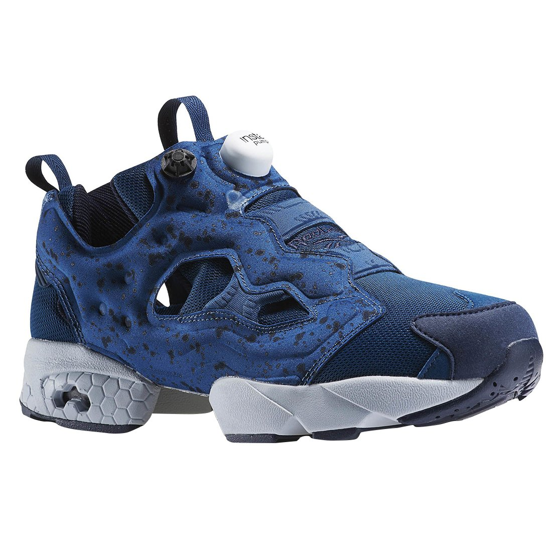 amazon com reebok instapump fury sp mens in navy cloud grey 8 5 rh amazon com