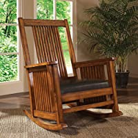 Spindle Rocking Chair Belmont/Brown