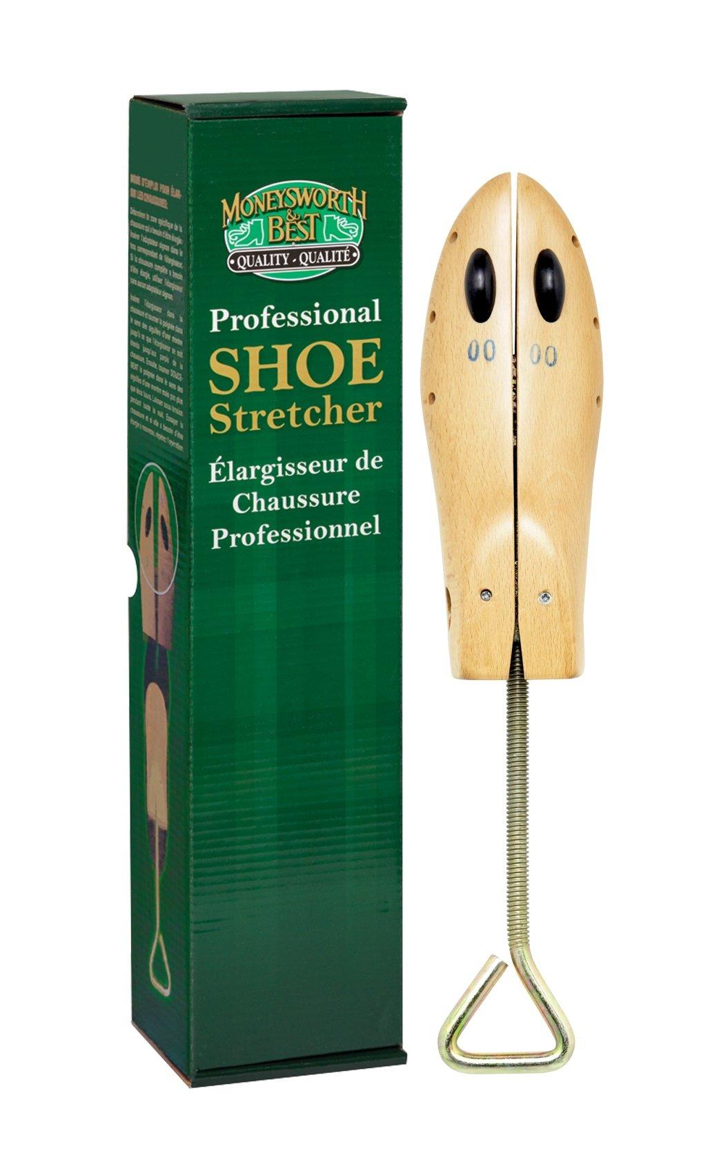 Moneysworth & Best Women's High Heel Shoe Stretcher, Large Size 8.5 +