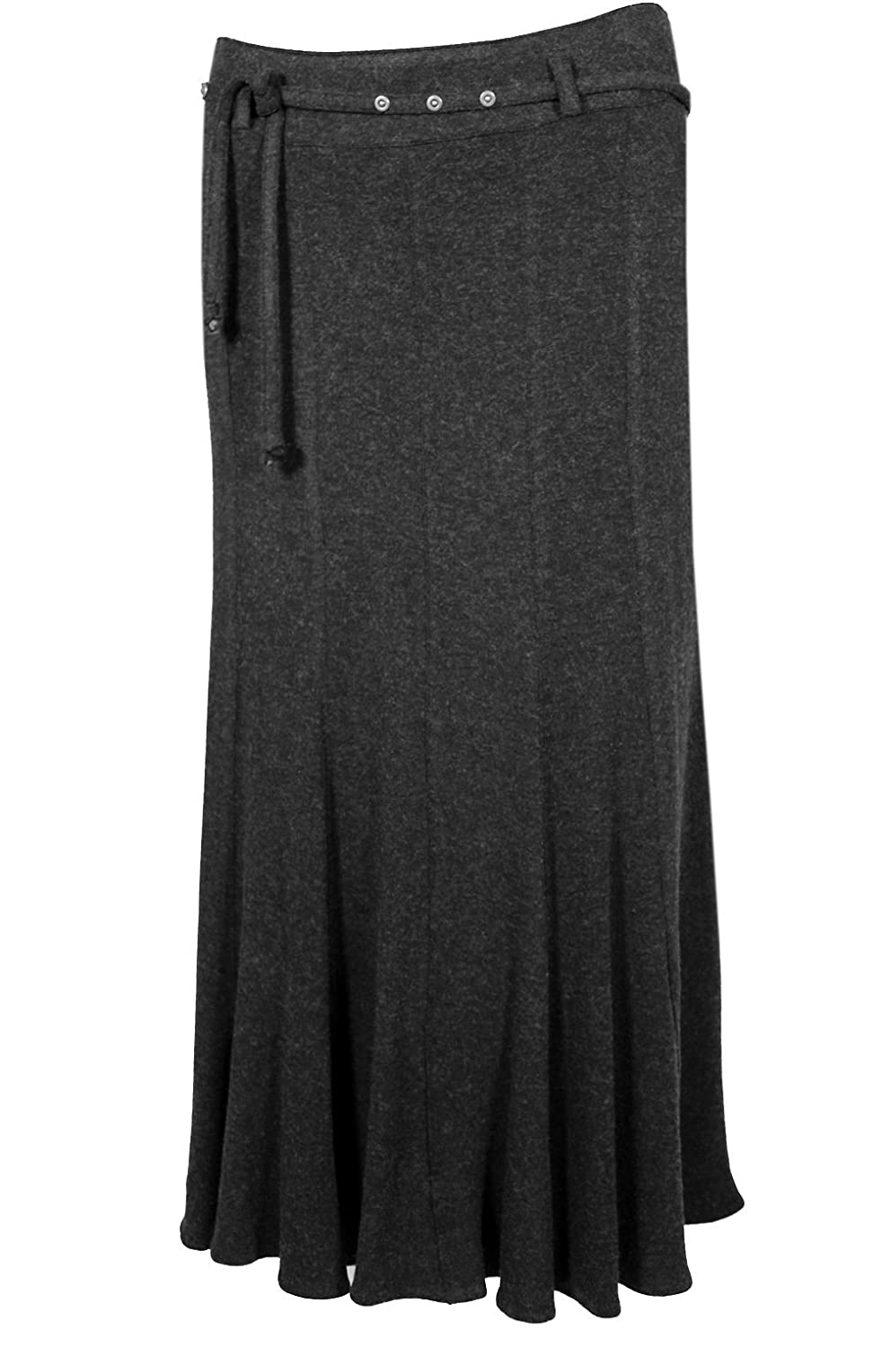 Steilmann Dark Grey Swing Skirt