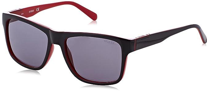 GUESS GU6882, Gafas de Sol para Hombre, Negro (Nero/Rosso),