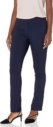 Lark & Ro Amazon Brand Women's Slim Leg Stretch Pant: Comfort Fit