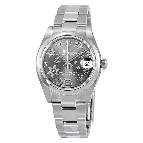 0040 M178240 Gris Mujer esRelojes Datejust RelojAmazon Rolex oerdCQExBW
