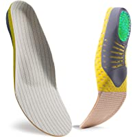 Shock Absorption Shoe Insole,Superior Honeycomb Cushion and Arch Support to Reduce Muscle Fatigue and Stress on Joints…