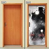 Adesivo Decorativo de Porta - Trem - 646cnpt