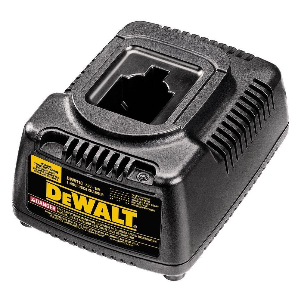 DeWalt DW9116 7.2-volt a pod estilo de 18 V 1 hora cargador ...