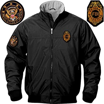 444e7c6e0 GEN.CON. FBI LIGHT BOMBER JACKET: Amazon.co.uk: Sports & Outdoors